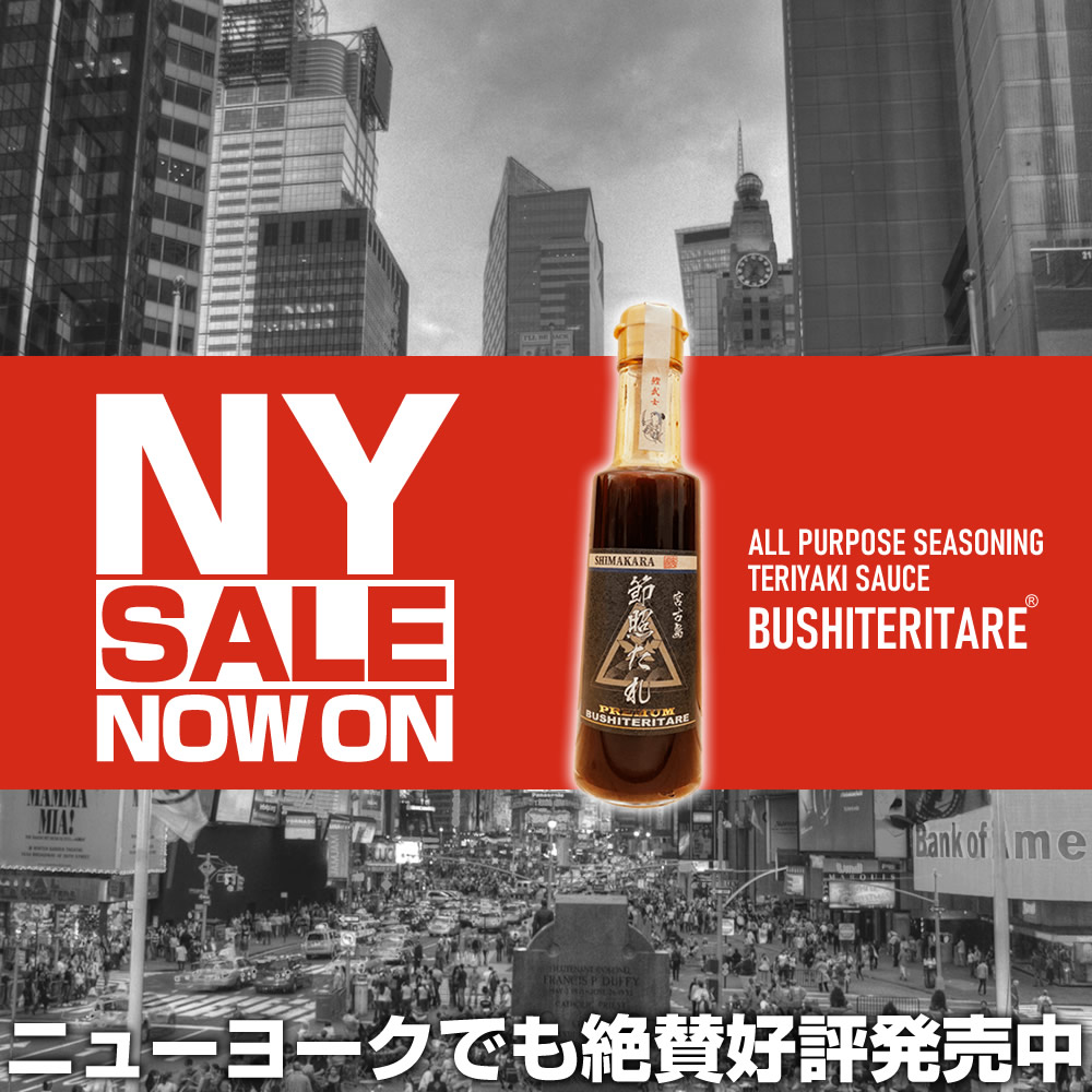 BUSHITERITARE SHIMAKARA JAPAN All-Purpose Seasoning Teriyaki Sauce
